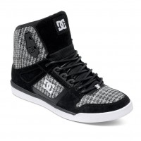 DC Rebound Slim High Sp W black/white