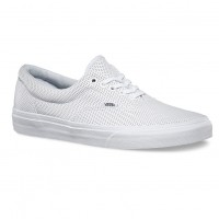 Vans Era perf leather true white