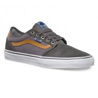 Vans Lindero 2 herringbone twill grey/white