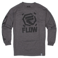 Flow Taped Ls charcoal heather