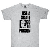 Thrasher Use A Skate Go To Prison grey