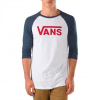 Vans Classic Raglan white/heather navy