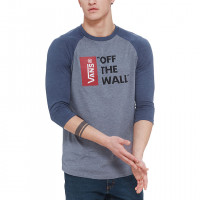 Vans Vans Off The Wall Raglan heather grey/heather navy