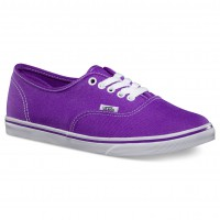 Vans Authentic Lo Pro neon electric purple