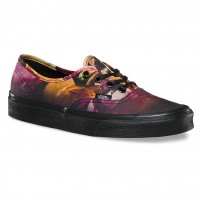 Vans Authentic ombre floral black/black