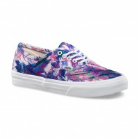 Vans Authentic Slim multi paint purple