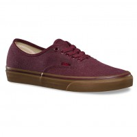 Vans Authentic washed canvas port royale/gum