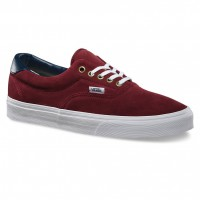 Vans Era 59 suede/leather oxblood red