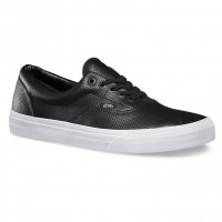 Vans Era perf leather black