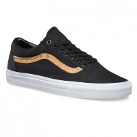 Vans Old Skool cork twill black