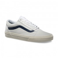 Vans Old Skool matte leather twt/drs blue
