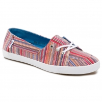 Vans Palisades Vulc stripes red/blue
