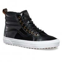 Vans Sk8-Hi 46 Mte pebble leather black