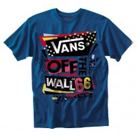 Vans Stenciled II royal/black