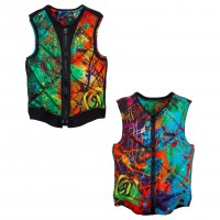 Ronix Party Athletic Cut splattered color