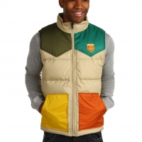Vans Bridger Vest beach sand multi