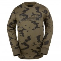 Volcom First Layer Crew olive