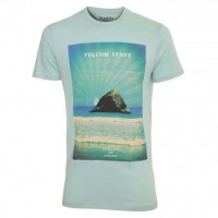 Volcom Omsprock Ss Lighweight coastal blue