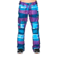 Volcom Zoomer scrabled stripe ink