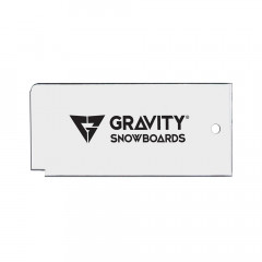 Gravity Wax Scraper clear 2019/2020