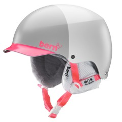 Bern Muse satin white/watermelon hatstyle 2013/2014