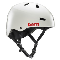 Bern Macon Team satin light grey