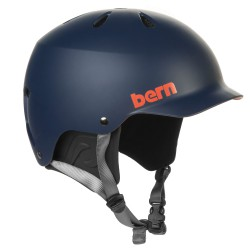 Bern Watts H2O matte navy blue