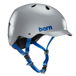 Bern Watts Team satin grey