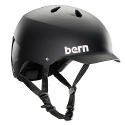 Bern Watts Team matte black