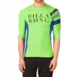 Billabong Edge Ss neon green