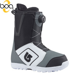 Burton Moto Boa white/black/grey