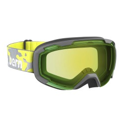 Bern Sawyer neon yellow camo