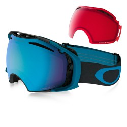 Oakley Airbrake iron legion blue