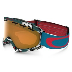 Oakley O2 XS shady trees blue red
