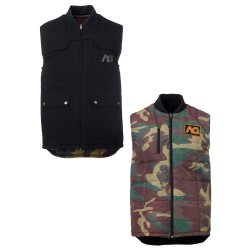 Analog Divest Vest true black/surplus camo