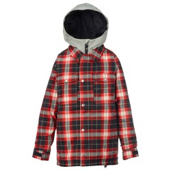 Burton Boys Uproar process road miked plaid
