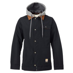 Burton Dunmore true black oxford