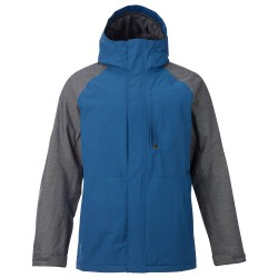Burton Hilltop boro ripstop/heather grey block