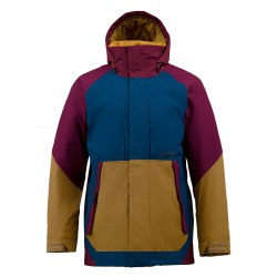 Burton Restricted Pole Cat sangria colorblock