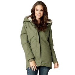 Fox Stormy Coat fatigue green