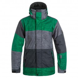 Quiksilver Mission Printed s stripe jolly green