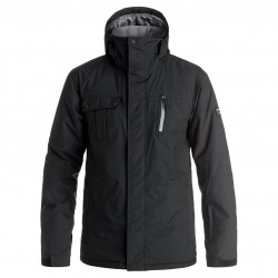 Quiksilver Mission Solid black