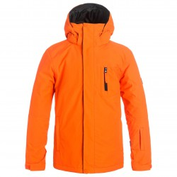 Quiksilver Mission Solid Youth flame