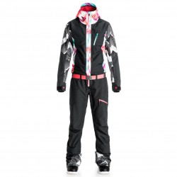 Roxy Impression Suit Pop Snow true black