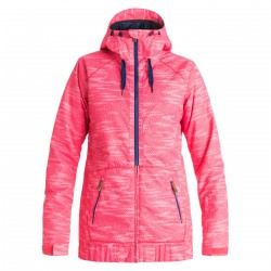 Roxy Valley Hoodie bounding paradise pink