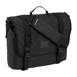 Burton Flint Messenger true black triple ripstop