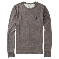 Burton Lightweight Crew monument heather