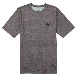 Burton Lightweight Tee monument heather