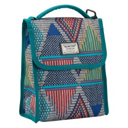 Burton Lunch Sack de geo print