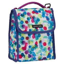 Burton Lunch Sack rainbow drops print